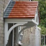 Tiled Overdoor Canopy