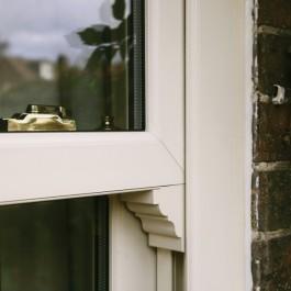 Sliding sash window detail