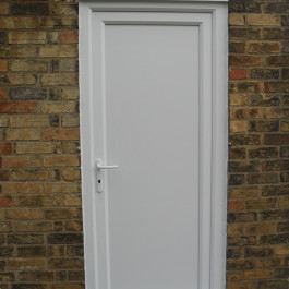 plain white Standard Door 10