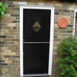 Black composite stable door