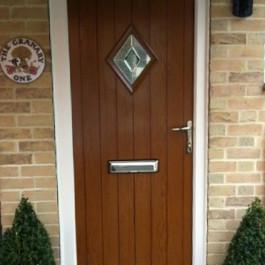 Woodgrain Finish Composite Door 18