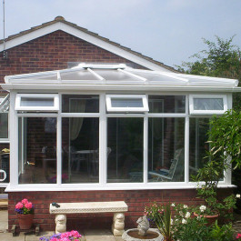 white conservatories