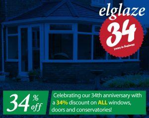34% Off Windows Doors and Conservatories
