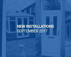 New Installations September 2017
