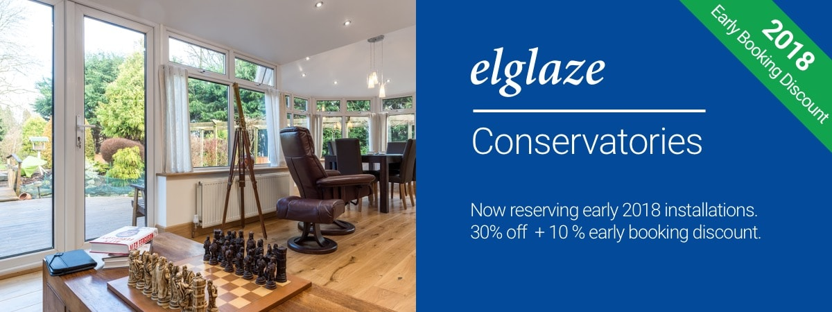 Conservatories Early Booking Offer
