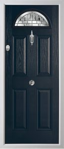 Ash Anthracite Grey Lignum door