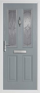 Birch Mid Grey door