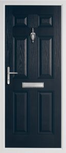 Oak Solid Anthracite Grey door