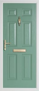 Oak Solid Chartwell Green door