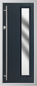 Pine Anthracite Grey Stippled door