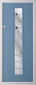 Pine Duck Egg Blue Trieste door