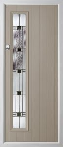 Pine French Grey Aspen door