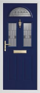 Teak Blue door