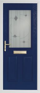 willow blue door