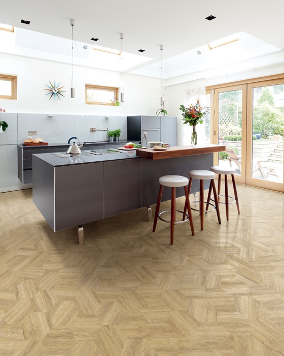 Kitchen diner with Camaro Flooring