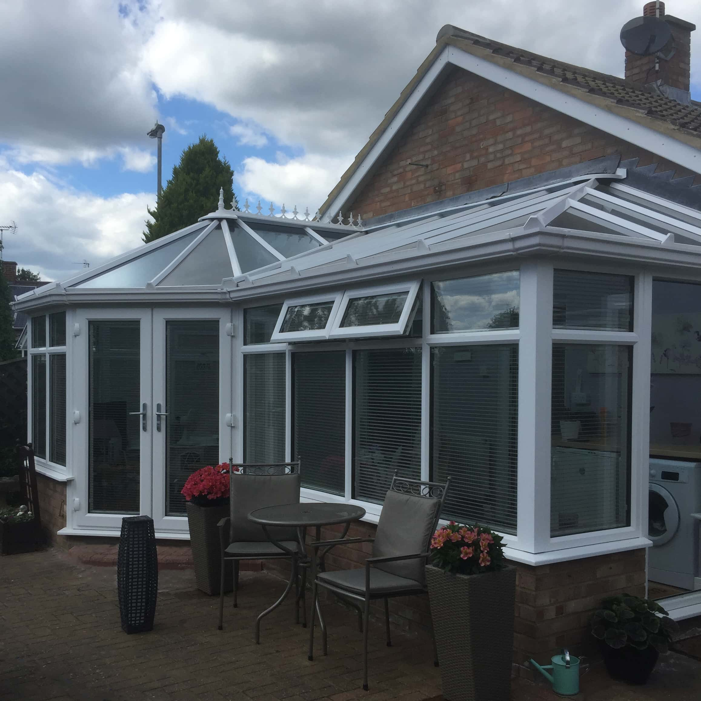 P-Shape Conservatory - June 2018