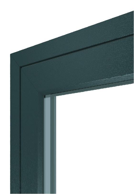 Logik S Flush Sash Window - Grey