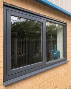 First install of the brand new Logik S Flush Sash