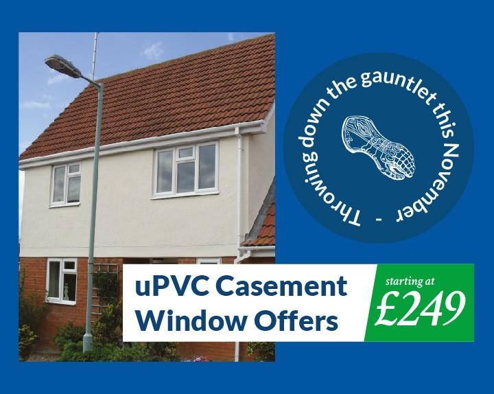 upvc casement windows offers starting at £249 this november