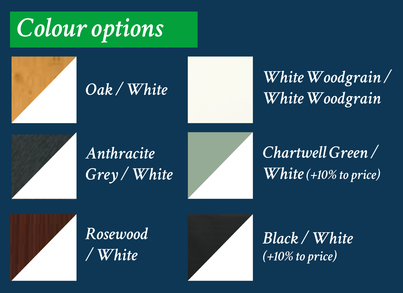 Window colour options