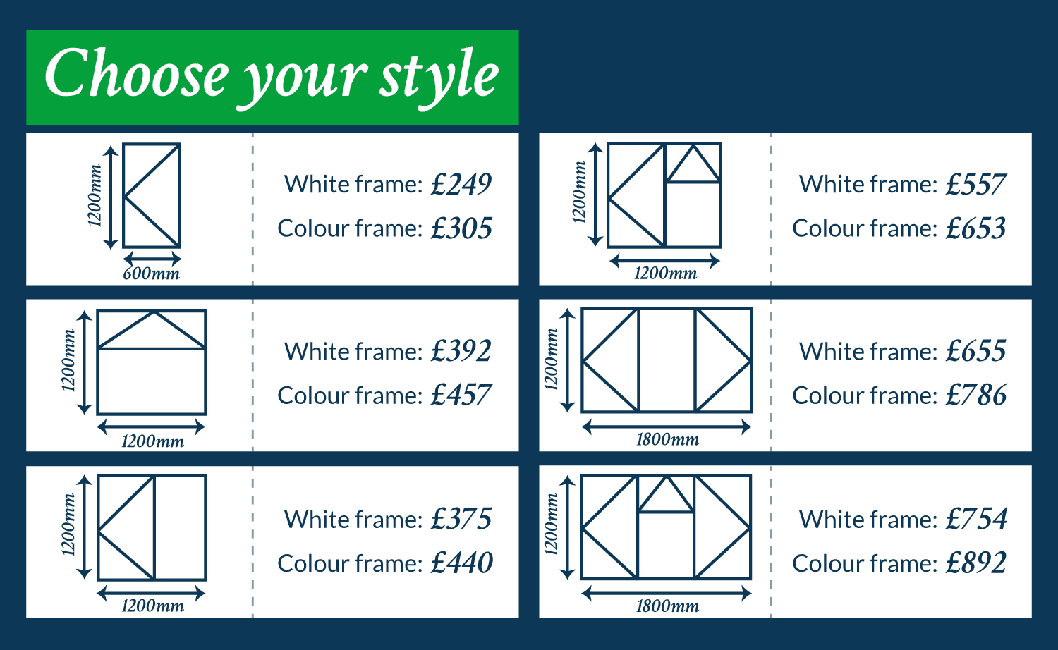 upvc casement window styles and prices for November 2019