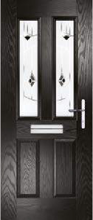 Meteor Composite Door in Black