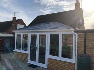 Another angle of this Equinox Tiled Roof Conservatory