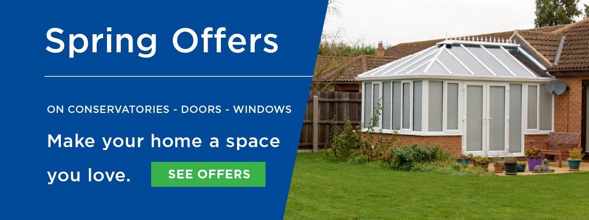 Spring offers on windows doors and conservatories from Elglaze