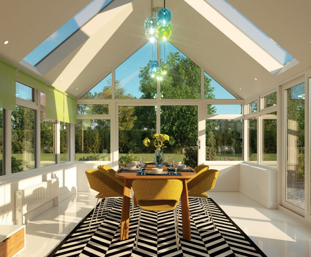 interior shot of the Equinox Vega roof