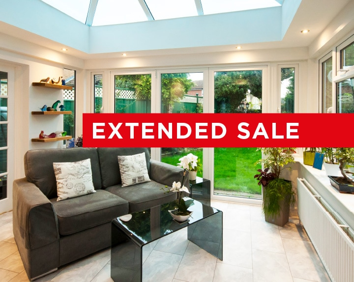 Extended new year conservatory sale