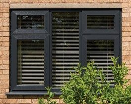 grey sash window